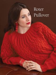 Strickanleitung - Roter Pullover - Best of Designer Knitting 01/2021