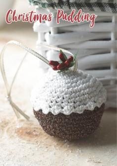 Häkelanleitung - Christmas Pudding - Simply Häkeln kompakt Weihnachtsdeko 01/2021