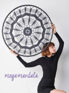 Häkelanleitung - Mega-Mandala - Simply Häkeln 01/2021