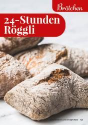 Rezept - 24-Stunden-Röggli - Simply Backen kompakt Vollkorn – 01/2021