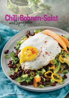 Rezept - Chili-Bohnen-Salat mit Spiegelei - Simply Kochen Kompakt Low Carb 01/2021