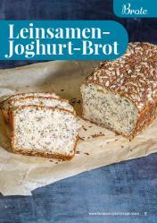 Rezept - Leinsamen-Joghurt-Brot - Simply Backen kompakt Vollkorn – 01/2021