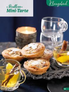 Rezept - Stollen-Mini-Tarte - Simply Backen Special Weihnachten 01/2020