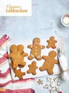 Rezept - Vegane Lebkuchen - Simply Backen Special Weihnachten 01/2020
