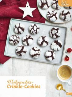 Rezept - Weihnachts-Crinkle-Cookies - Simply Backen Special Weihnachten 01/2020