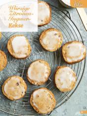 Rezept - Würzige Zitronen-Ingwer-Kekse - Simply Backen Special Weihnachten 01/2020
