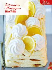 Rezept - Zitronen-Meringue-Kuchen - Simply Backen Special Weihnachten 01/2020
