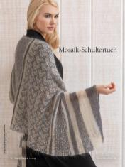 Strickanleitung - Mosaik-Schultertuch - Best of Designer Knitting 02/2021