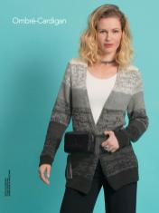 Strickanleitung - Ombré-Cardigan - Best of Designer Knitting 02/2021