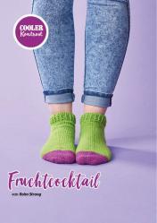Häkelanleitung - Fruchtcocktail - Simply Häkeln Kompakt Sonderheft Socken 01/2021