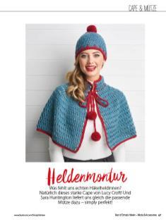 Häkelanleitung - Heldenmontur - Best of Simply Häkeln Häkelmode 01/2021