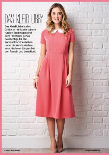 Nähanleitung - Das Kleid Libby - Best of Kleider nähen 01/2021