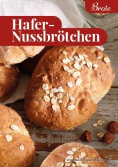 Rezept - Hafer-Nussbrötchen - Simply Backen Kompakt Brötchen 02/2021