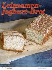 Rezept - Leinsamen-Joghurt-Brot - Best of Besser Backen mit Tommy Weinz – 02/2021