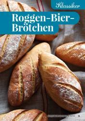 Rezept - Roggen-Bier-Brötchen - Simply Backen Kompakt Brötchen 02/2021