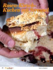 Rezept - Rosen-Kirsch-Kuchen mit Streusel - Best of Besser Backen mit Tommy Weinz – 02/2021