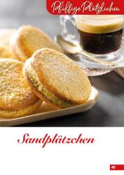 Rezept - Sandplätzchen - Simply Backen Kekse 04/2020
