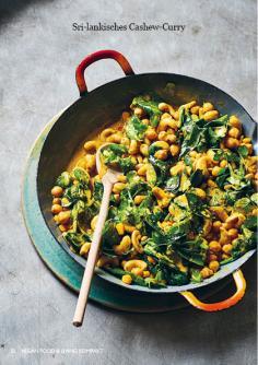 Rezept - Sri-lankisches Cashew-Curry - Vegan Food & Living Kompakt – 01/2021