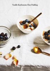 Rezept - Vanille-Kardamom-Chia-Pudding - Vegan Food & Living Kompakt – 01/2021