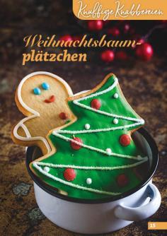 Rezept - Weihnachtsbaumplätzchen - Simply Backen Kekse 04/2020