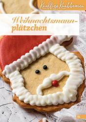 Rezept - Weihnachtsmannplätzchen - Simply Backen Kekse 04/2020