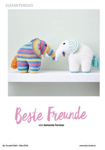 Häkelanleitung - Beste Freunde - Simply Kreativ Häkeln Kompakt Babys & Kids 02/2021