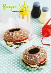 Häkelanleitung - Burger to go - Simply Kreativ Häkeln Kompakt Babys & Kids 02/2021