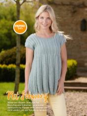 Strickanleitung - Mit Schwung - Simply Stricken Sonderheft Best of Pullover & Shirts 02/2020