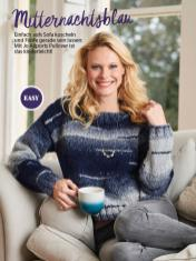 Strickanleitung - Mitternachtsblau - Simply Stricken Sonderheft Best of Pullover & Shirts 02/2020