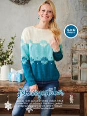 Strickanleitung - Schnee­gestöber - Simply Stricken Sonderheft Best of Pullover & Shirts 02/2020