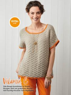 Strickanleitung - Vitamin C - Simply Stricken Sonderheft Best of Pullover & Shirts 02/2020