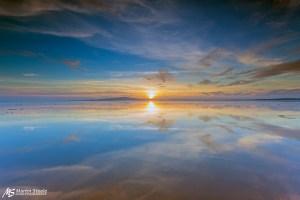 Cardurnock sunset - martin steele
