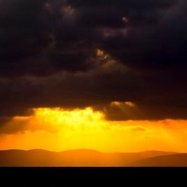 Jurassic coast sunrise