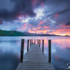 Ashness jetty derwent water