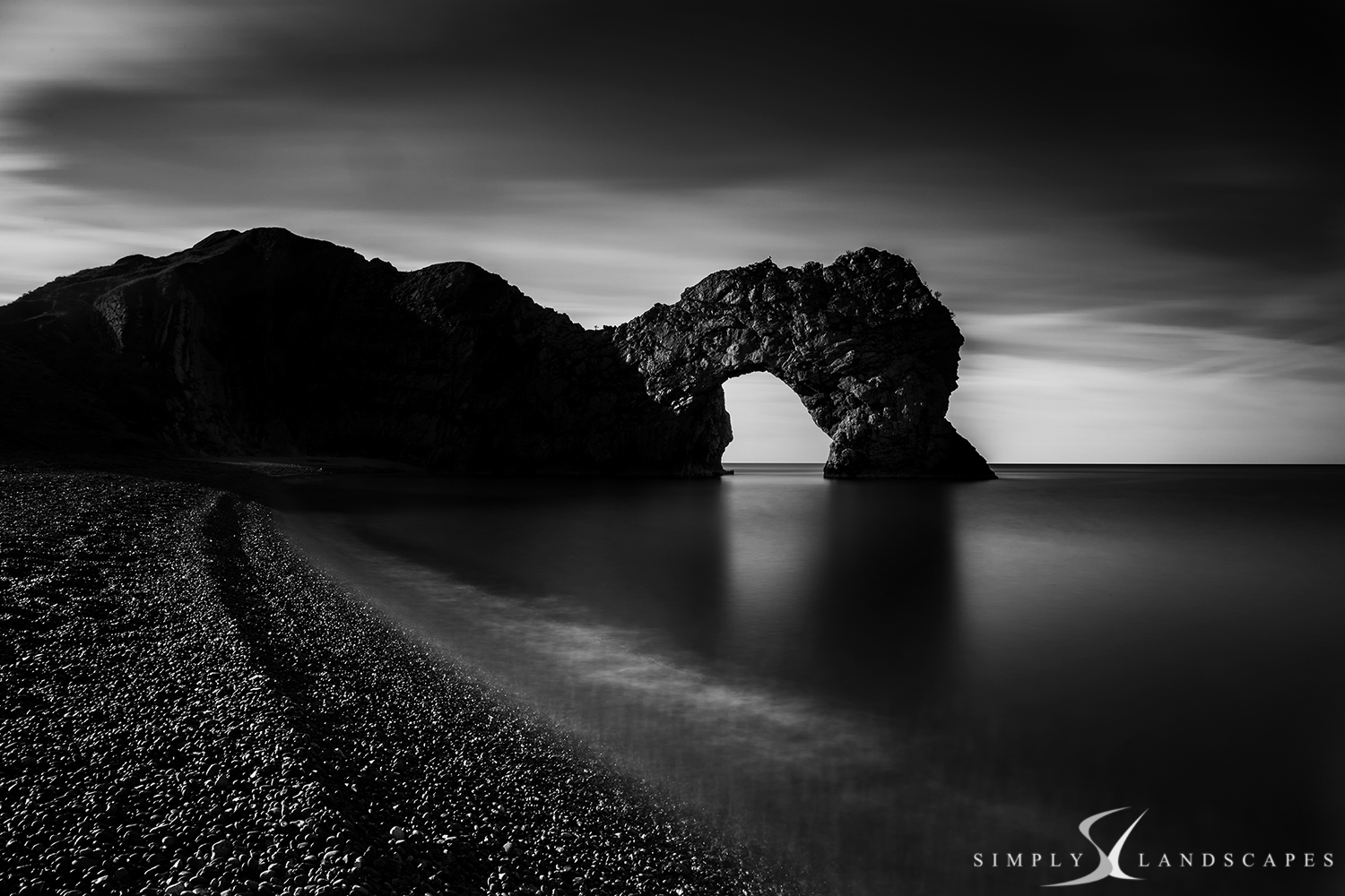 Durdle door arch Mono