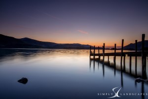 Ashness Jetty on derwent water