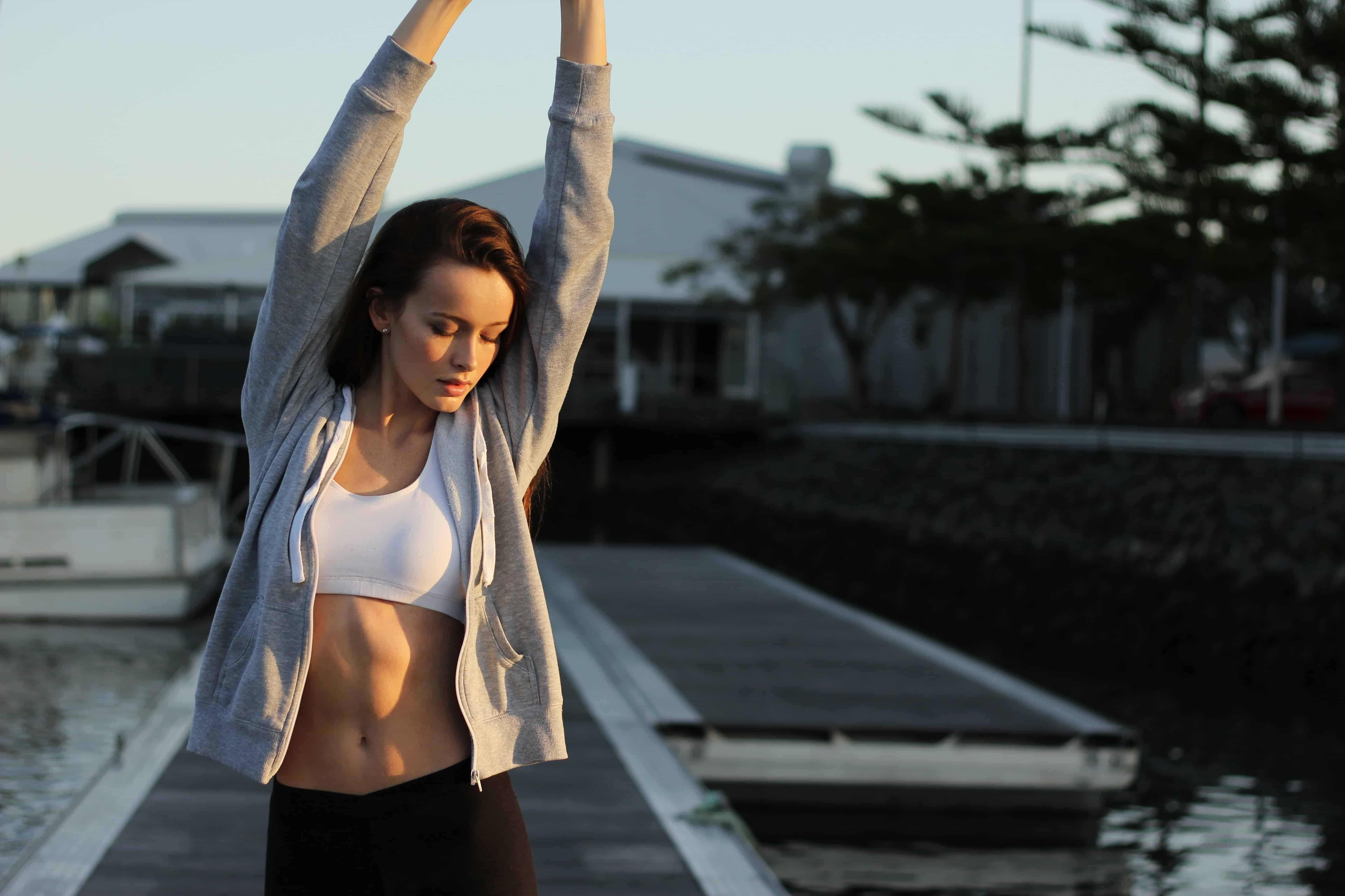 Quick workouts to increase health and happiness.