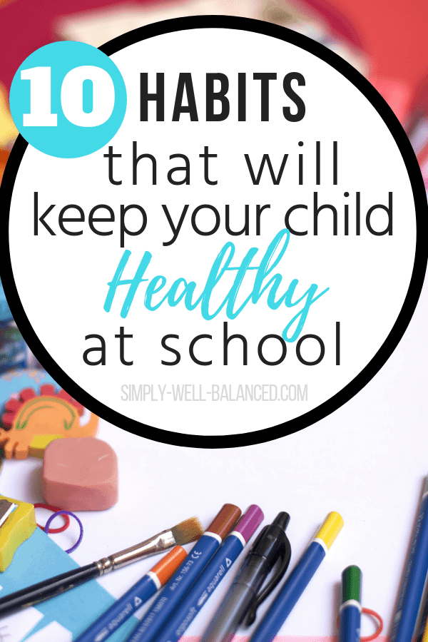 I am so glad I found these great tips from a teacher about how to keep kids from spreading germs at school. Ever since starting preschool my child is always getting sick. These are simple healthy habits that you can teach your child so they can stay healthy and avoid the cold and flu this year. #healthykids #healthandwellness #coldandflu