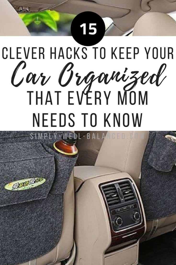 If you take road trips with your family you know that kids are messy. Every mom needs to check out these must have car accessories to keep your car organized with kids. These are great ideas for DIY car organization and includes tips for your purse, car trunks, and even an emergency kit for your vehicle. How to keep your car organized with kids