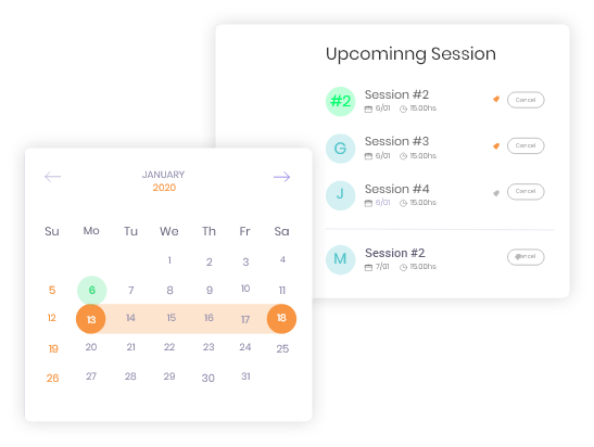 Upcoming Session Reminders | Nudges | Simply.Coach