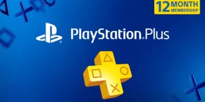 Playstation Plus 12 month membership subscription