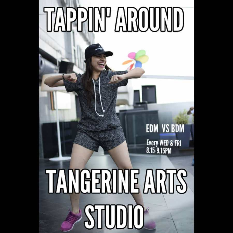 EDM vs. BDM with Sneha Tharwani of Tappin' Around @ Tangerine Arts Studio, Mumbai