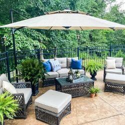 summer pool patio