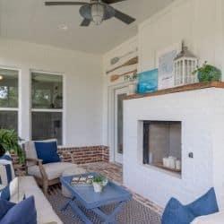 summer screened porch
