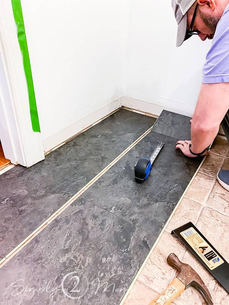 how to install floating vinyl flooring