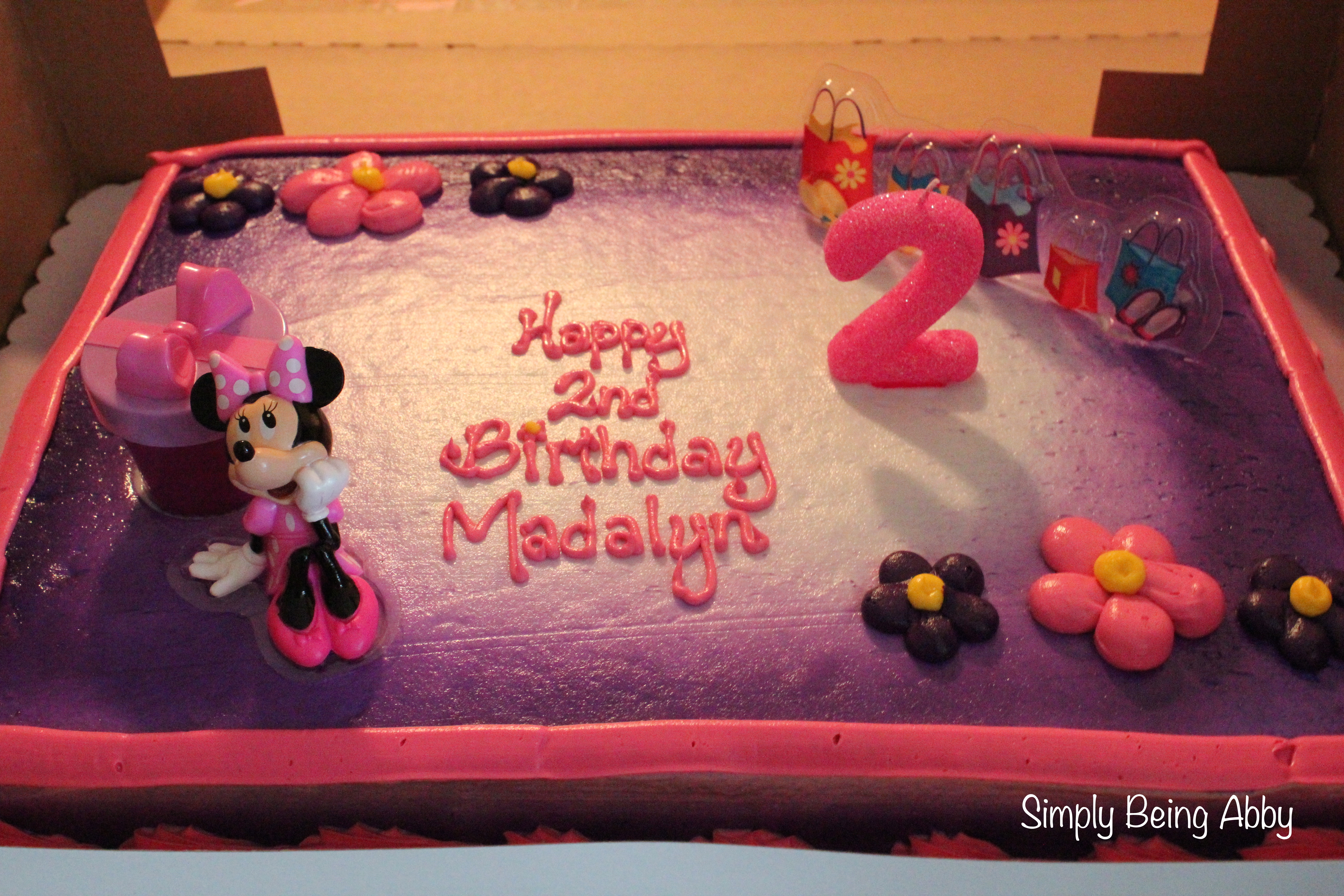 Minnie Mouse Centerpiece Decorations Simply Being Abby