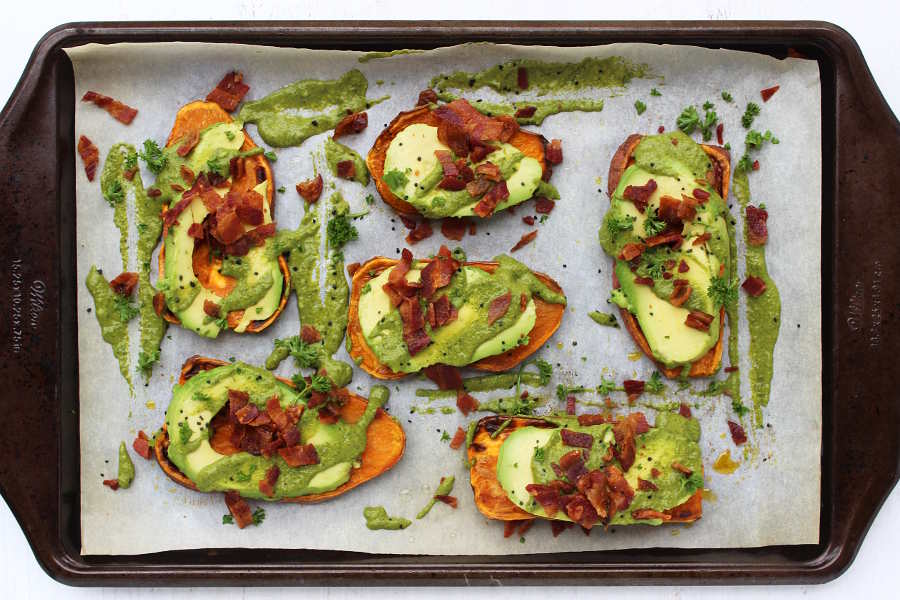AIP Chimichurri Toasts