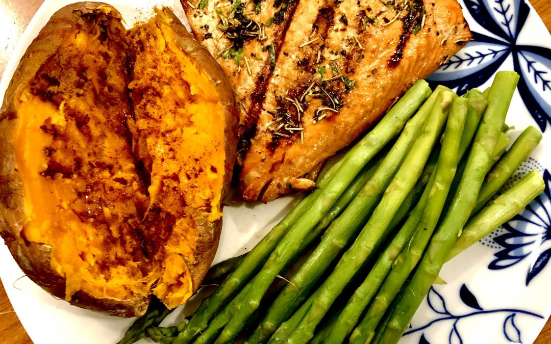 AIP Grilled Salmon