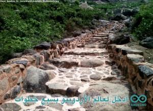 Steps_leading_to_Gurubhaktulakonda_Monastery