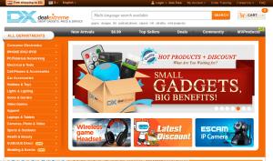 الشراء من موقع dx.com
